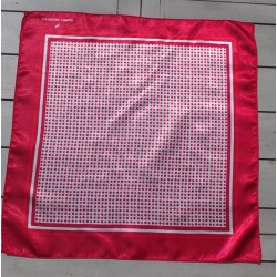 Plumetis rouge - 50 cm