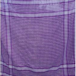 Keffieh violet - 100 cm
