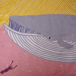 Baleine grise - 50 cm