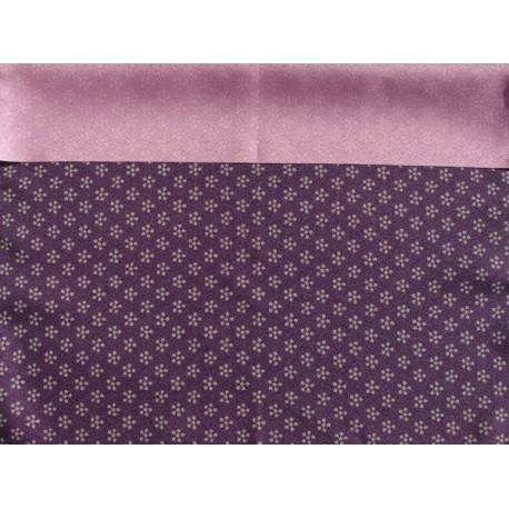 Réversible Rikyū ume violet et rose