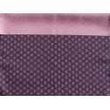 Réversible Rikyū ume violet et rose -70 cm