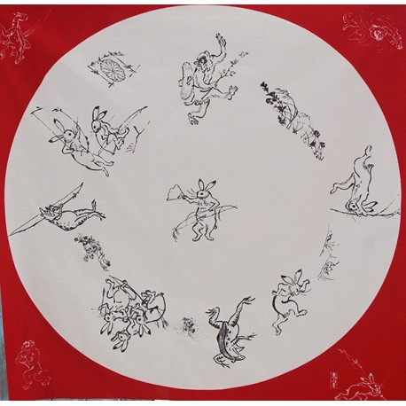 Chôjû giga, Caricatures d'animaux  - 70 cm
