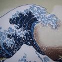 La Grande Vague d'Hokusai - 70 cm