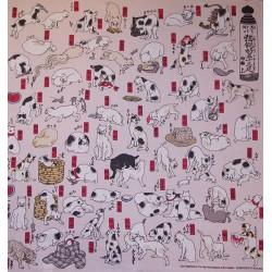 Chats d'Utagawa - 70 cm