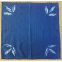 Trio de Feuilles Guntai shibori - 35 cm