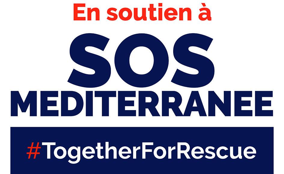 Logo soutien SOS Méditerranée