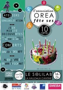 OREA fête ses 10 ans!