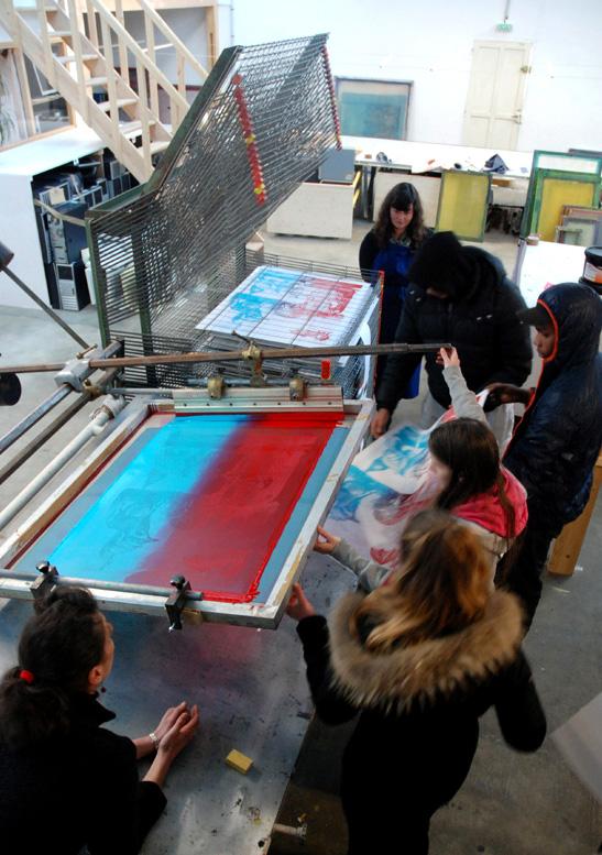 Atelier jeunes d'initiation, Atelier Parades à la Bonneterie.