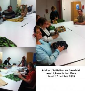 Atelier découverte à l'association Orea, Nantes.