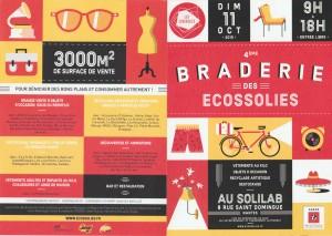4ème Braderie des Ecossolies à Nantes
