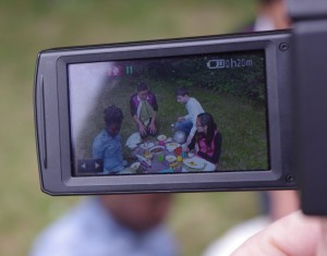 "Tournage film ""Dans la famille furoshiki..."""